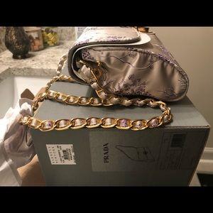 Prada Brocade Shoulder Bag